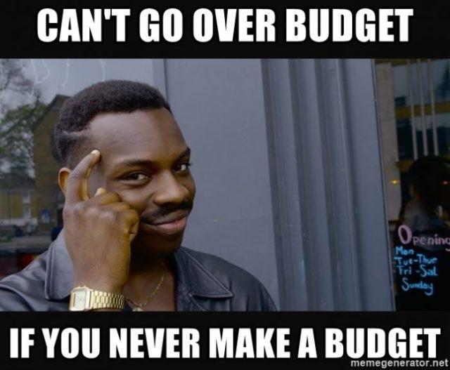 budget fail