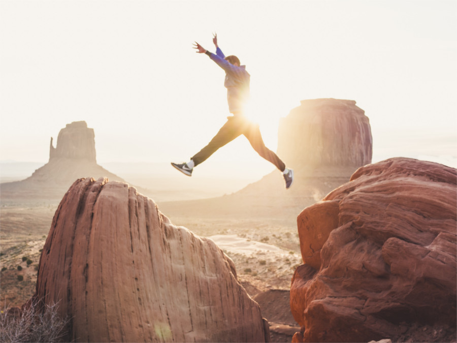 Jump by doran Erickson